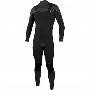 O'Neill Psycho I 4/3 Chest Zip Wetsuit - Black/Graphite