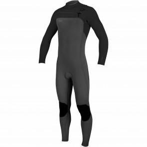 O'Neill HyperFreak 3mm Chest Zip Wetsuit - Graphite/Black