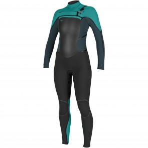 O'Neill Women's Psycho Tech 4/3 Chest Zip Wetsuit