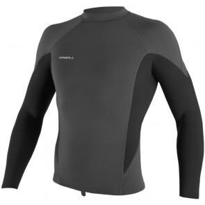 O'Neill Wetsuits HyperFreak 1.5mm Long Sleeve Jacket - Graphite/Black