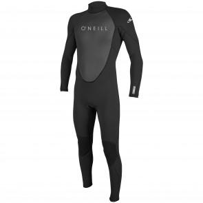 O'Neill Reactor II 3/2 Back Zip Wetsuit - Black