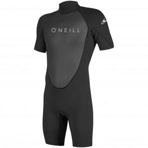 O'Neill Reactor II 2mm Short Sleeve Back Zip Spring Wetsuit - Black