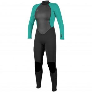 O'Neill Women's Reactor II 3/2 Back Zip Wetsuit