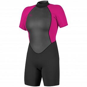 O'Neill Women's Reactor II 2mm Short Sleeve Back Zip Spring Wetsuit