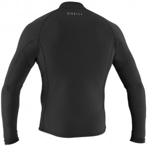 O'Neill Reactor II 1.5mm Front Zip Long Sleeve Jacket - Black