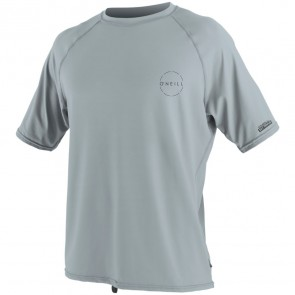 O'Neill Wetsuits 24-7 Traveler Rash Tee - Cool Grey