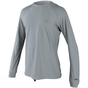 O'Neill Wetsuits 24-7 Traveler Long Sleeve Rash Tee - Cool Grey