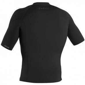 O'Neill Wetsuits Reactor II 1mm Short Sleeve Jacket - Black