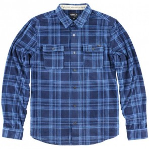 O'Neill Superfleece Glacier Stripe Flannel - Blue