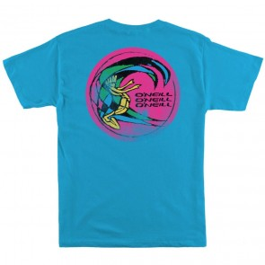 O'Neill Youth Wavecult T-Shirt - Turquoise