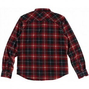 O'Neill Glacier Plaid Long Sleeve Shirt - Black