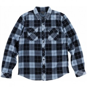 O'Neill Glacier Plaid Long Sleeve Shirt - Navy