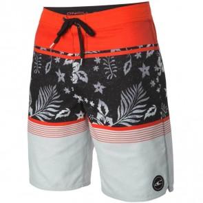 O'Neill Lombok Boardshorts - Neon Red
