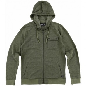 O'Neill Imperial Zip-Up Hoodie - Olive