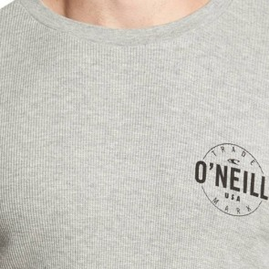 O'Neill Agent Thermal Long Sleeve Top - Medium Heather Grey