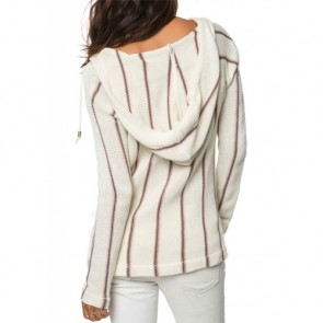 O'Neill Women's Ash Hooded Sweater - White