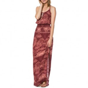 O'Neill Women's Kravitz Maxi Dress - Port