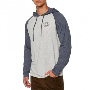 O'Neill Malcolm Long Sleeve Hooded Top - Slate