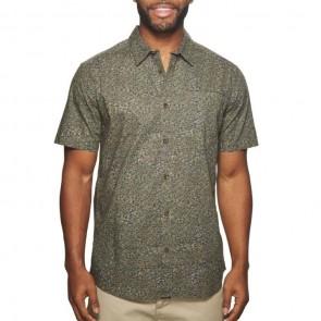 O'Neill Livingston Short Sleeve Shirt - Asphalt