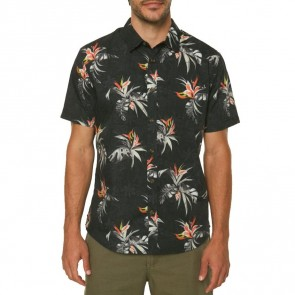 O'Neill Islander Short Sleeve Shirt - Black