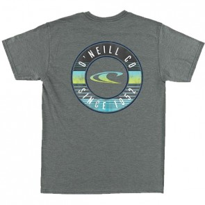 O'Neill Youth Supply T-Shirt - Medium Heather Grey
