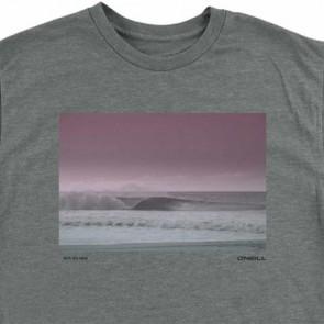 O'Neill Far Out T-Shirt - Medium Heather Grey