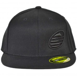 Cleanline Embroidered Rock Hat - Black