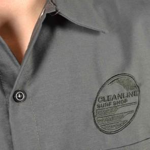 Cleanline New Rock Short Sleeve Work Shirt - Charcoal