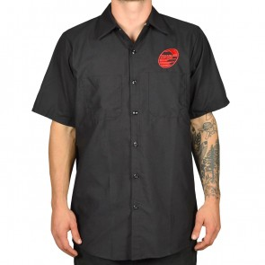 Cleanline New Rock Short Sleeve Work Shirt - Black