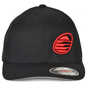 Cleanline Youth Embroidered Rock Hat - Black/Red