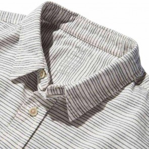Outerknown Nomadic Short Sleeve Shirt - Spoke Stripe