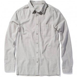 Outerknown Nomadic Long Sleeve Shirt - Pebble