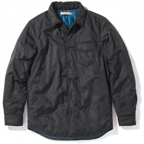 Outerknown Evolution Shirt Jacket - Bright Black