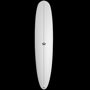 CJ Nelson Designs Parallax Thunderbolt Surfboard - White - Deck