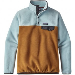 Patagonia Women's Lightweight Synchilla Snap-T Fleece Pullover - Bear Brown