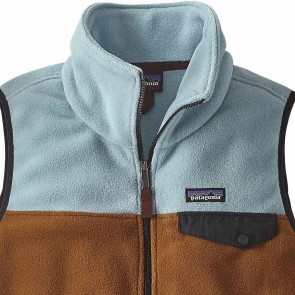 Patagonia Women's Snap-T Fleece Vest - Bear Brown
