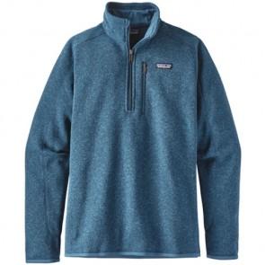 Patagonia Better Sweater 1/4 Zip Fleece - Big Sur Blue