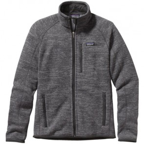 Patagonia Better Sweater Fleece Jacket - Nickel/Forge Grey