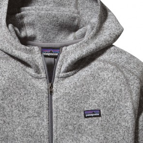 Patagonia Women's Better Sweater Zip Hoodie - Birch White