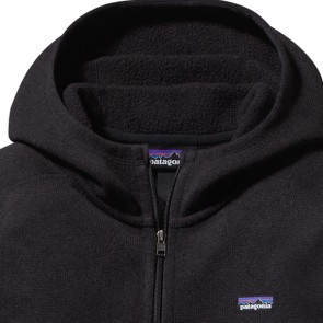 Patagonia Women's Better Sweater Zip Hoodie - Black