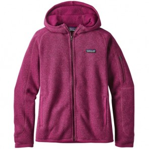 Patagonia Women's Better Sweater Zip Hoodie - Magenta