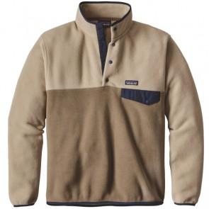 Patagonia Lightweight Synchilla Snap-T Fleece Pullover - Ash Tan