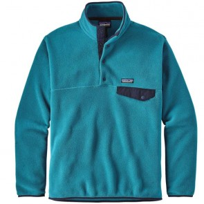 Patagonia Lightweight Synchilla Snap-T Fleece Pullover - Filter Blue