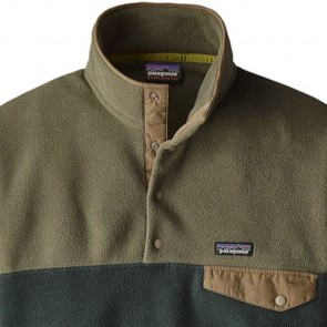 Patagonia Lightweight Synchilla Snap-T Fleece Pullover - Industrial Green