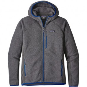 Patagonia Performance Better Sweater Fleece Hoody - Forge Grey
