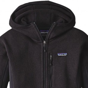 Patagonia Women's Performance Better Sweater Fleece Hoody - Black