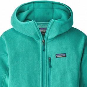 Patagonia Women's Performance Better Sweater Fleece Hoody - Bend Blue
