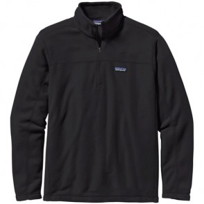Patagonia Micro D Fleece Pullover - Black