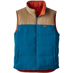 Patagonia Reversible Bivy Down Vest - Big Sur Blue