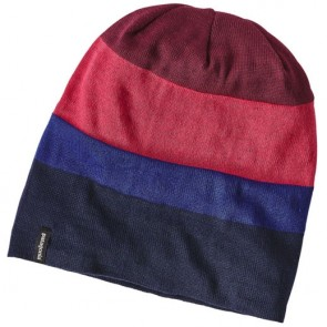 Patagonia Slopestyle Beanie - Huck Stripe/Magenta